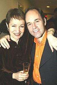 Lynn Aherns and Stephen Flaherty